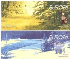 2004. Belarus, Europa 2004, 2 Booklets, Mint/** - Belarus