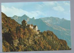 LI.- LIECHTENSTEIN. SCHLOSS VADUZ. CASTLE OF VADUZ. CHATEAU DE VADUZ. Ongelopen. - Liechtenstein