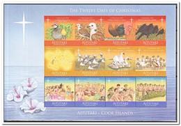 Aitutaki 2011, Postfris MNH, Christmas, Birds, Music - Aitutaki