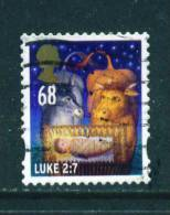 GREAT BRITAIN  -  2011  Christmas  68p  Self Adhesive  FU  (stock Scan) - Used Stamps