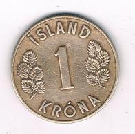 1 KRONA 1946  IJSLAND  /2528/ - Islande