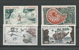 NLLE CALÉDONIE Scott C29-C32 Yvert PA66-PA69 (4) *LH Cote 43 $ 1962 - Neufs