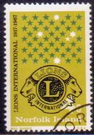 Norfolk Island 1967 SG 91 4c Used Lions International - Norfolk Island