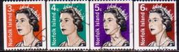 Norfolk Island 1968-71 SG 93-95a Compl.set Used Coil Stamps - Norfolk Island