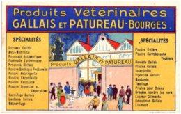 18 BOURGES - Produits Vétérinaires Gallais Et Patureau - Bourges