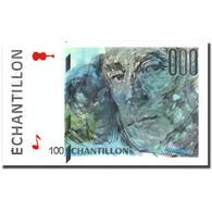 France, 100 Francs, échantillon, SPL+ - Fouten