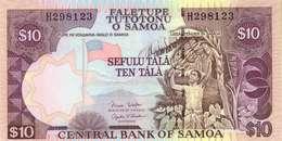 SAMOA 10 TĀLĀ ND (2002) P-34b UNC SIGN. RETZLAFF & SCANLAN [WS109c] - Samoa