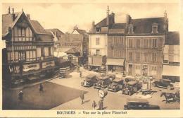 18 Bourhes Vue Sur La Place Planchat - Bourges