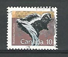 1988 N° 1069 MOUFFETTE OBLITÉRÉ - 1952-.... Règne D'Elizabeth II