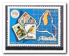 Aitutaki 1984, Postfris MNH, Birds, Stamp On Stamp - Aitutaki