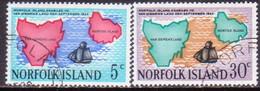 Norfolk Island 1969 SG 100-01 10 Used Annexation To Van Diemen's Land - Norfolk Island