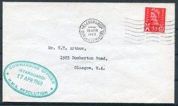 1969 GB Helensburgh H.M.S. RESOLUTION Cover, Royal Navy Ship - 1952-.... (Elizabeth II)