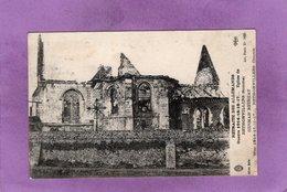 80 GUERRE 1914 16 16 17  ... Eglise De  RETHONVILLERS  RETRAITE DES ALLEMANDS - Autres Communes