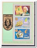 Aitutaki 1984, Postfris MNH, Birds, Stamp On Stamp, Ship, Map - Aitutaki