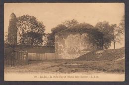 77246/ LILLE, La Noble Tour Et L'Eglise Saint-Sauveur - Lille