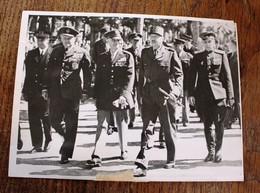 Photo De Presse - Généraux Militaire A Strasbourg Koenig Douglas Clay Sokolowski - Documents