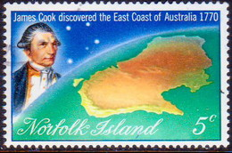 Norfolk Island 1970 SG 118 5c Used Capt.Cook II - Norfolk Island