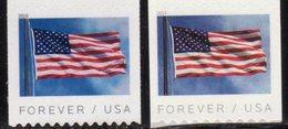 USA, 2019, MNH, FLAGS, COILS, APU & BCA, 2v - Timbres