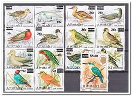 Aitutaki 1983, Postfris MNH, Birds - Aitutaki