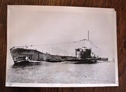 Photo De Presse - Le Nouveau Sous-marin Anglais Alderney - Documents
