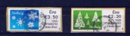 IRELAND  - 2015  Christmas  Stamps On A Roll  Full Set Of 2  CDS  Used  (stock Scan) - 1949-... République D'Irlande
