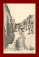 Taza * Une Rue    (scan Recto Et Verso ) - Maroc