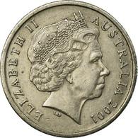 Monnaie, Australie, Elizabeth II, 5 Cents, 2001, Melbourne, TTB, Copper-nickel - Victoria