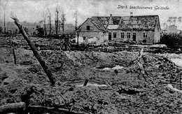 (96)  CPA Stark Beschossenes Gelande  (Bon Etat) - Belgique