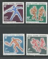 NLLE CALÉDONIE Scott 324-327 Yvert 308-311 (4) * Cote 8,75 $ 1963 - Neufs