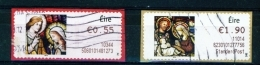 IRELAND  - 2010  Christmas  Stamps On A Roll  Full Set Of 2  Used  (stock Scan) - 1949-... République D'Irlande