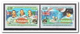 Aitutaki 1994, Postfris MNH, Space - Aitutaki
