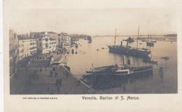 VENEZIA-BACINO DI SAN MARCO-BELLA E RARA CARTOLINA VERA FOTOGRAFIA NON VIAGGIATA -ANNO 1900-1904 - Venezia (Venice)