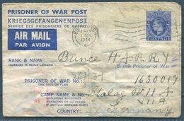 1944 GB Prisoner Of War, POW Kriegsgefangenenpost Airletter Edinburgh - Stalag 7A Germany - 1902-1951 (Re)
