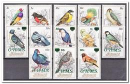 Aitutaki 1985, Postfris MNH, Birds, O.H.M.S. - Aitutaki