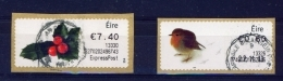 IRELAND  - 2013  Christmas  Stamps On A Roll  Full Set Of 2  CDS  Used  (stock Scan) - 1949-... République D'Irlande