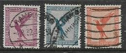 Germany, 1926-7, Air,eagle, 15pf, 20pf, 50pf Used - Germany