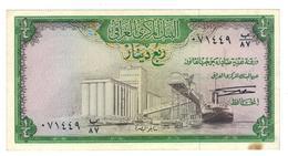 Iraq, 1/4 Dinar 1971, XF+. - Iraq