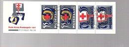 Red Cross Used Booklet PB36 (355) - Postzegelboekjes En Roltandingzegels