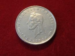 Münze 5 Reichsmark Friedrich Von Schiller Silber 1934 F Jaeger 359 - [ 4] 1933-1945: Drittes Reich