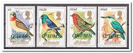 Aitutaki 1986, Postfris MNH, Birds, O.H.M.S. - Aitutaki