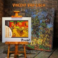TOGO 2019 - V. Van Gogh, Billiards S/S. Official Issue. - Jeux