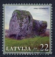 Lettonie - Lettland - Latvia 2008 Y&T N°709 - Michel N°735 (o) - 22s Mégalithe De Vaiku Dzakmens - Lituanie