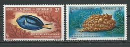 NLLE CALÉDONIE Scott C36-C37 Yvert PA77-PA78 (3) *LH Cote 14,50 $ 1964 - Neufs