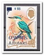 Aitutaki 1990, Postfris MNH, Birds, O.H.M.S. - Aitutaki