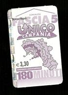 Biglietto Autobus Italia - Unico Campania - Fascia 5 Da 180 Min. Euro 3.30 - Autobus