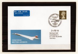 Großbritannien, 2006, Brief (echt Gelaufen) Mit Sonderstempel Concorde - Brieven En Documenten