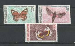 NLLE CALÉDONIE Scott C51-C53 Yvert PA92-PA94 (3) *,*,** Cote 38,00 $ 1967 - Poste Aérienne