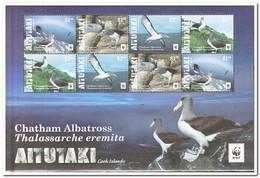 Aitutaki 2016, Postfris MNH, Birds Wwf - Aitutaki