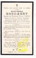 DP Im. Mort. FR Nord - Marie Angèle Boddaert / Decherf ° 1882 † Saint Jans Cappel 1913 X Pierre Naeye - Images Religieuses