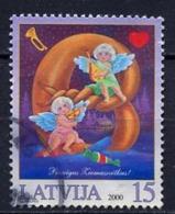 Lettonie - Lettland - Latvia 2000 Y&T N°507 - Michel N°537 (o) - 15s Anges Musiciens - Lituanie